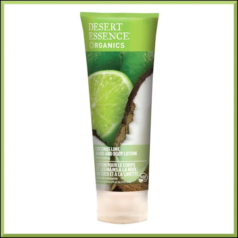 Lotion corps vegan Coco Citron - Desert Essence