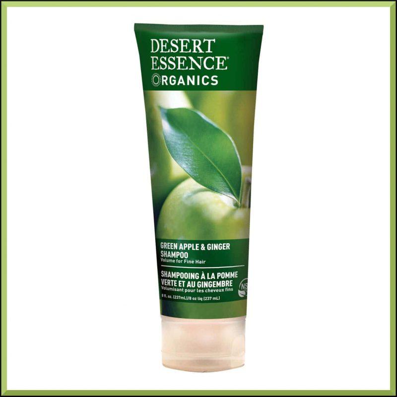 Shampoing vegan pomme & gingembre Desert Essence