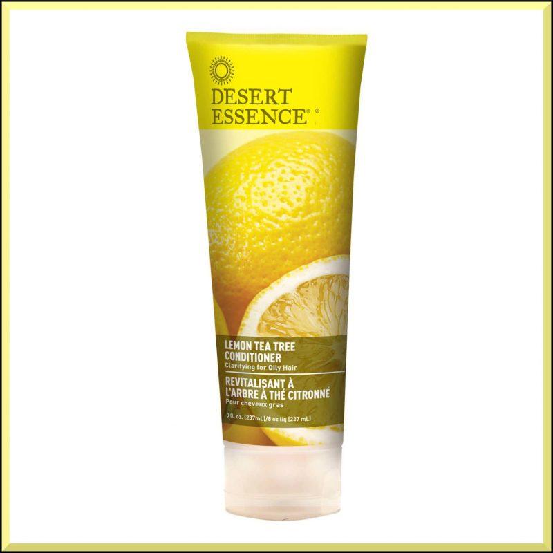 Après shampoing vegan citron & arbre à thé Desert Essence