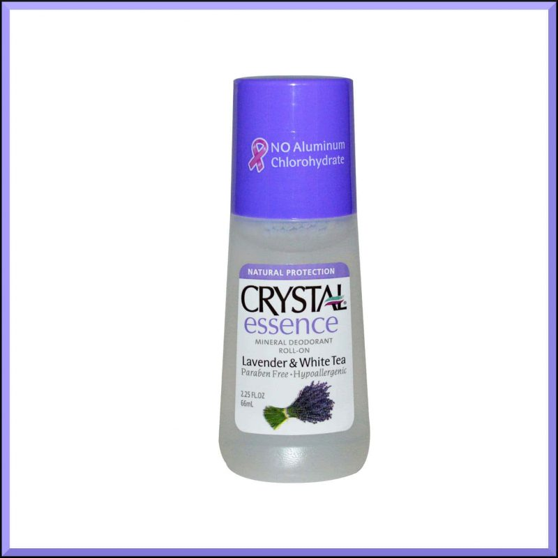"Déodorant vegan ""Lavande et Thé blanc"" - Crystal Body Deodorant"