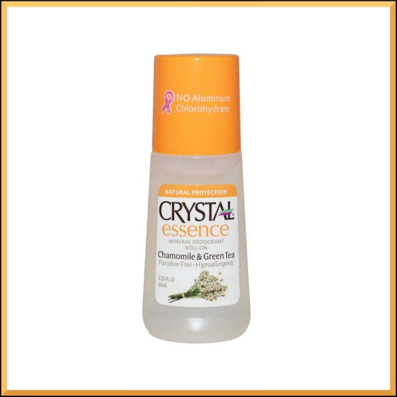 """Déodorant vegan """"Camomille et Thé vert"""" - Crystal Body Deodorant"""