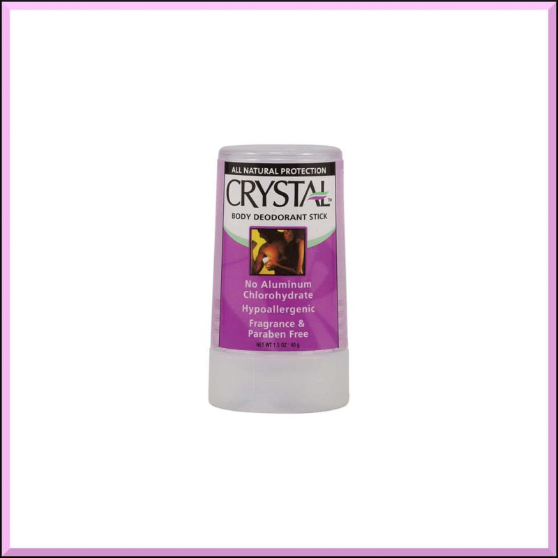 Mini déodorant vegan et naturel - Crystal Body Deodorant