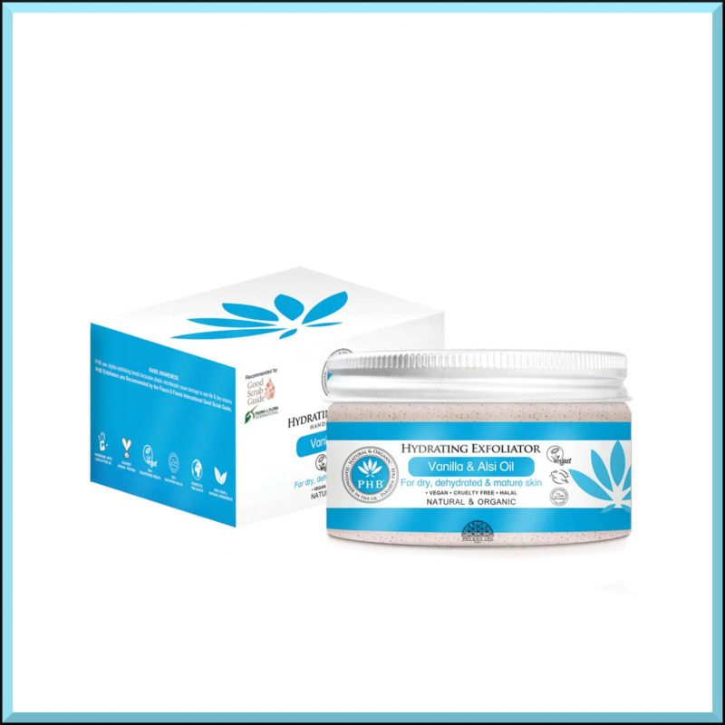 """Gommage hydratant """"Vanille & Lin"""" 100gr - PHB Ethical Beauty"""