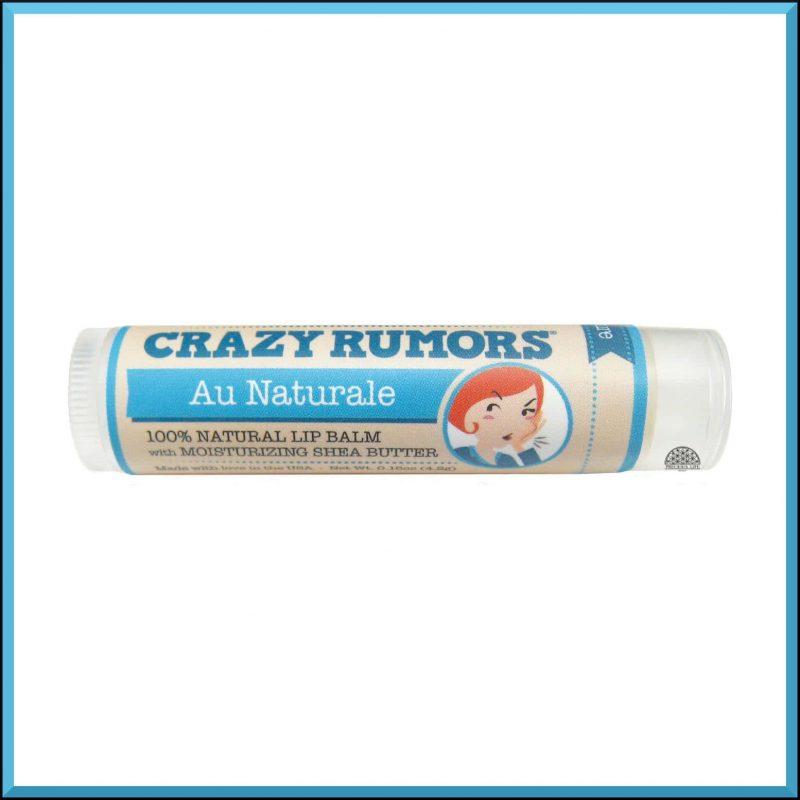 """Baume à lèvres """"Au Natural"""" 4.2gr - Crazy Rumors"""