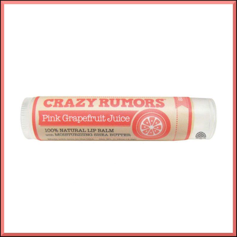 """Baume à lèvres """"Pink Grapefruit Juice"""" 4.2gr - Crazy Rumors"""
