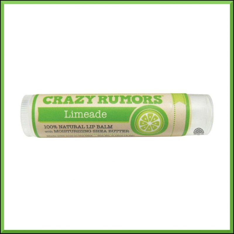 """Baume à lèvres """"Limeade"""" 4.2gr - Crazy Rumors"""
