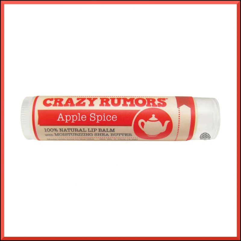 """Baume à lèvres """"Apple Spice"""" 4.2gr - Crazy Rumors"""