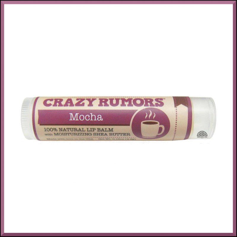 """Baume à lèvres """"Mocha"""" 4.2gr - Crazy Rumors"""