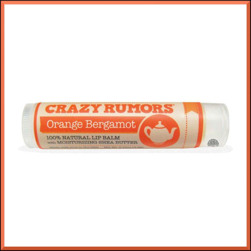 "Baume à lèvres ""Orange Bergamot"" 4.2gr - Crazy Rumors"