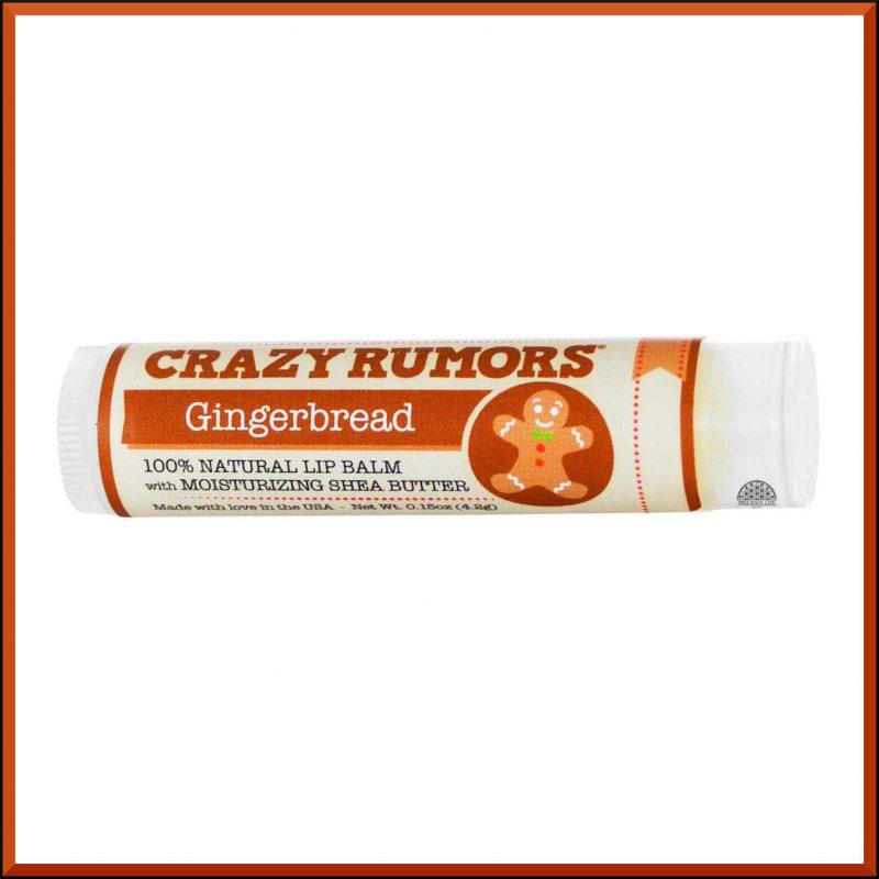 """Baume à lèvres Edition limitée """"Gingerbread"""" 4.2gr - Crazy Rumors"""