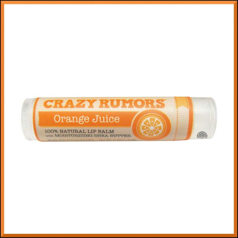 """Baume à lèvres """"Orange Juice"""" 4.2gr - Crazy Rumors"""