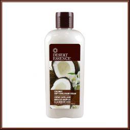 """Crème cheveux bouclés """"Noix de coco"""" 190 ml - Desert Essence"""