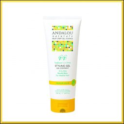 "Gel coiffant ""Tournesol & Agrumes"" 200ml - Andalou Naturals"