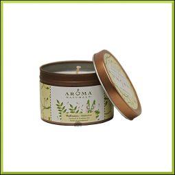 """Bougie """"Meditation"""" Patchouli & Encens 79gr - Aroma Naturals"""