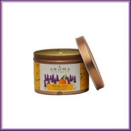"Bougie ""Relaxing"" Lavande & Mandarine 79gr - Aroma Naturals"