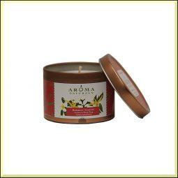 "Bougie ""Romance"" Jasmin & Ylang ylang 79gr - Aroma Naturals"