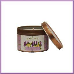 "Bougie ""Serenity"" Lavande & Ylang ylang 79gr - Aroma Naturals"
