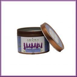 "Bougie ""Tranquility"" Lavande 79gr - Aroma Naturals"