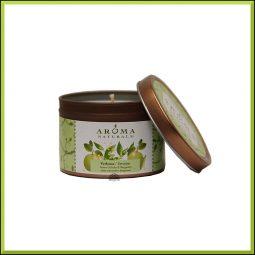 """Bougie """"Verbena"""" Verveine exotique & Bergamote 79gr - Aroma Naturals"""