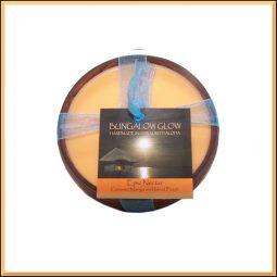 """""""Epic Nectar"""" Bougie vegan & naturelle senteur coco, mangue, pêche 160gr"""
