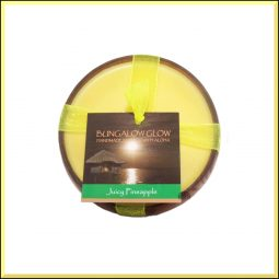 """Juicy Pineaple"" Bougie vegan & naturelle senteur ananas juteux 160gr"