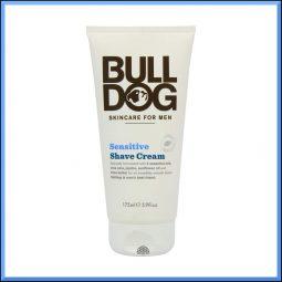 Crème à raser peau sensible 175ml - Bulldog Natural Skincare