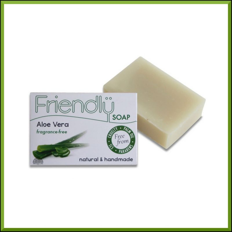 "Savon SAF ""Aloe Vera"" 95gr - Friendly Soap"