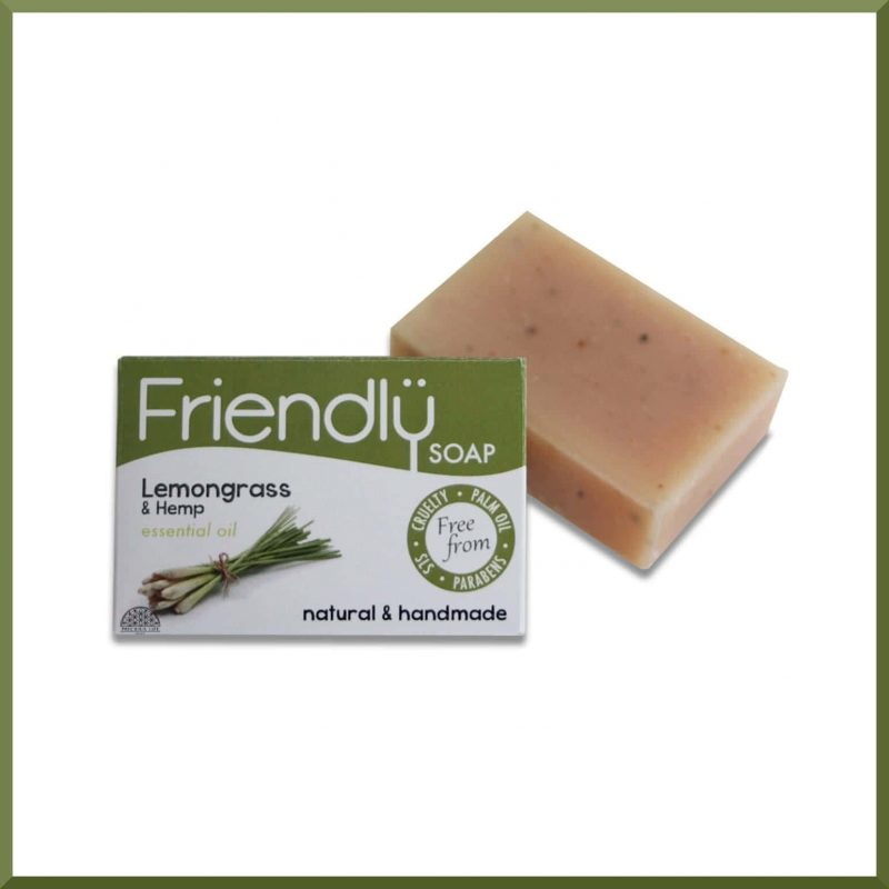 "Savon SAF ""Citronnelle & Chanvre"" 95gr - Friendly Soap"