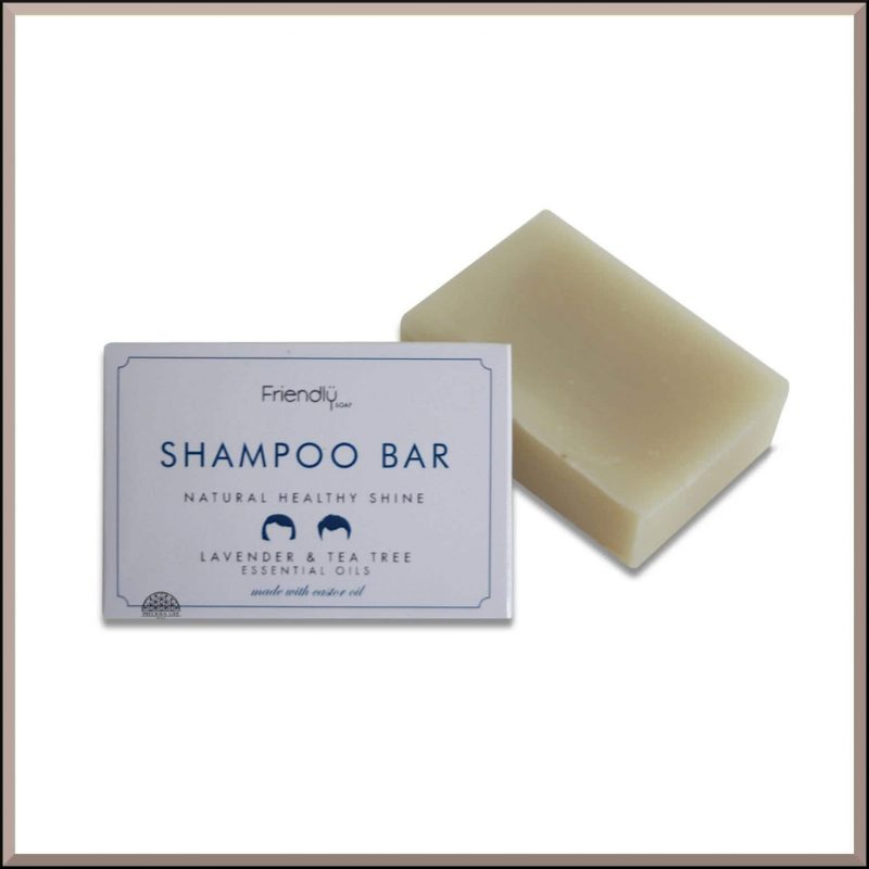 "Shampoing SAF ""Lavande & Arbre à thé"" 95gr - Friendly Soap"