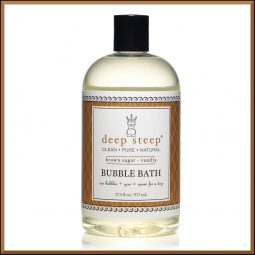 "Bain moussant ""Vanille & Sucre roux"" 517ml - Deep Steep"