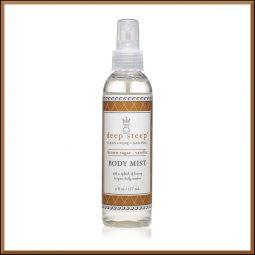 Brume parfumée vegan & bio senteur Vanille Sucre roux 177ml