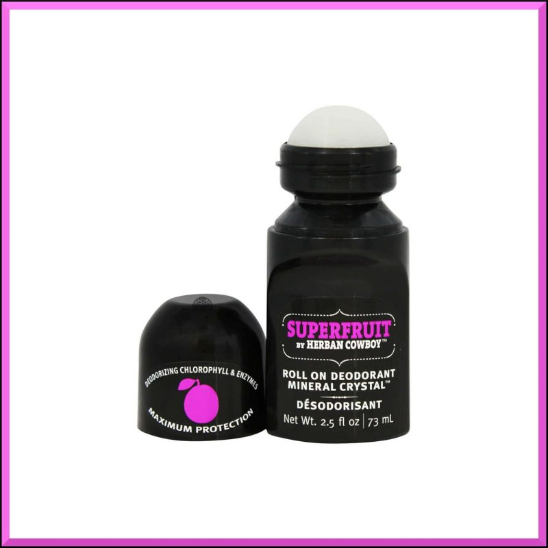 "Déodorant roll on ""Superfruit"" 73ml - Herban Cowboy"