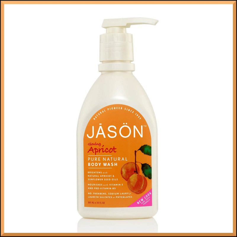 "Gel douche ""Abricot"" 887ml - Jason Naturals"