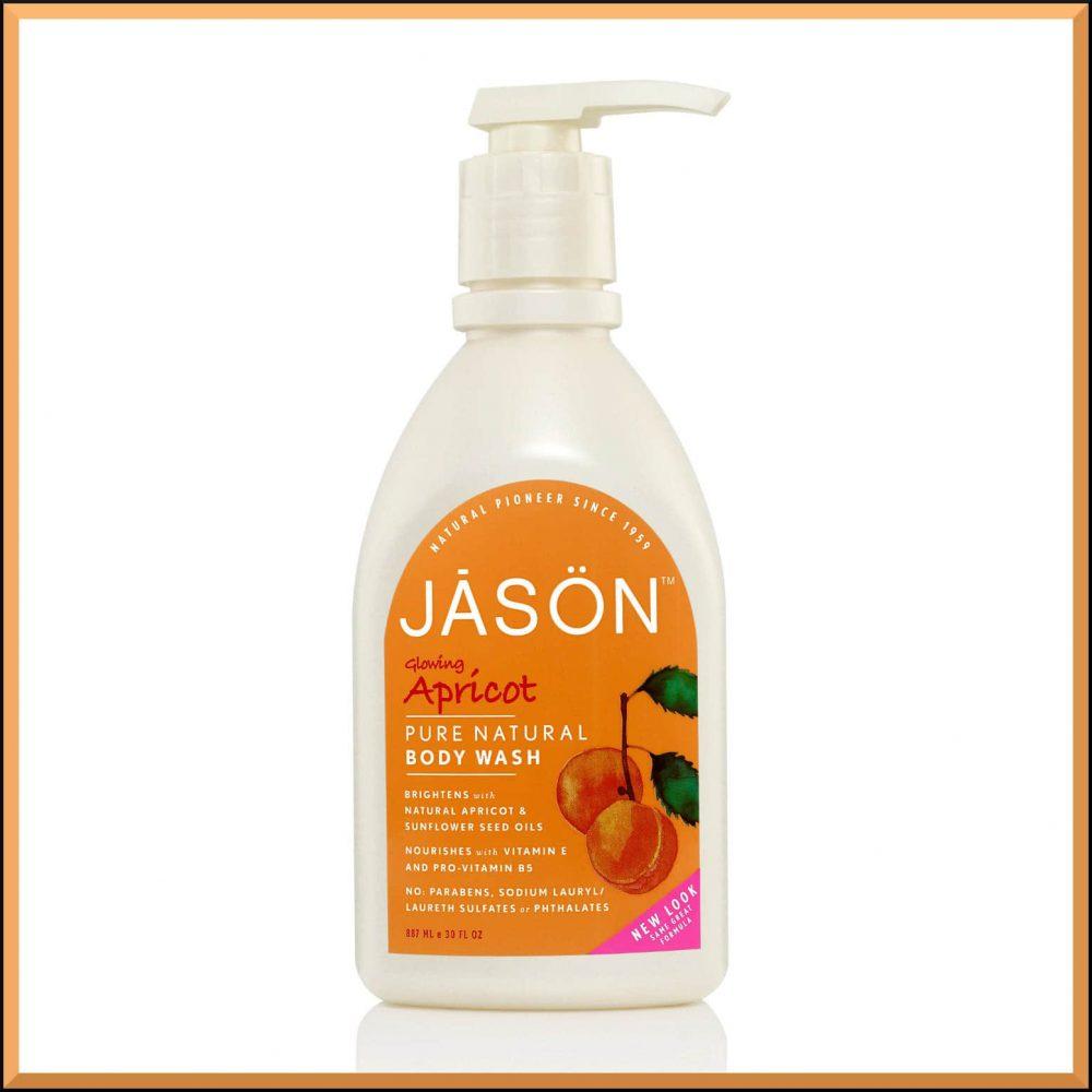 gel douche vegan naturel senteur abricot jason natural. Black Bedroom Furniture Sets. Home Design Ideas