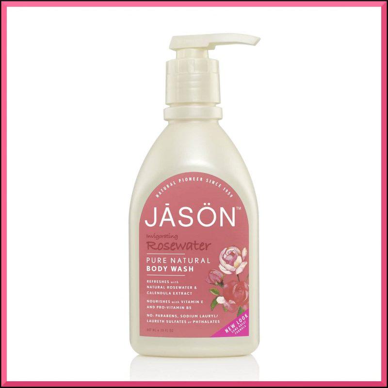 """Gel douche """"Rose"""" 887ml - Jason Naturals"""