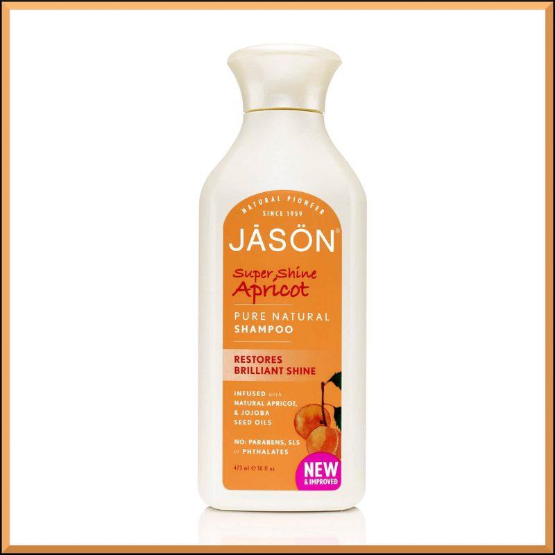 "Shampoing ""Abricot"" 473ml - Jason Naturals"