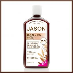 Shampoing 2en1 anti pelliculaire 355ml - Jason Naturals