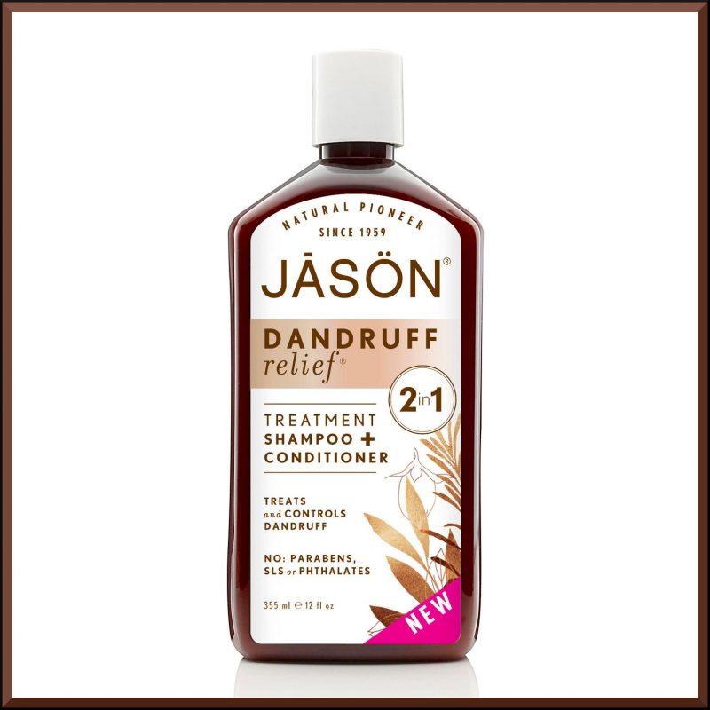 Shampoing 2en1 anti pelliculaire 355ml - Jason Naturals