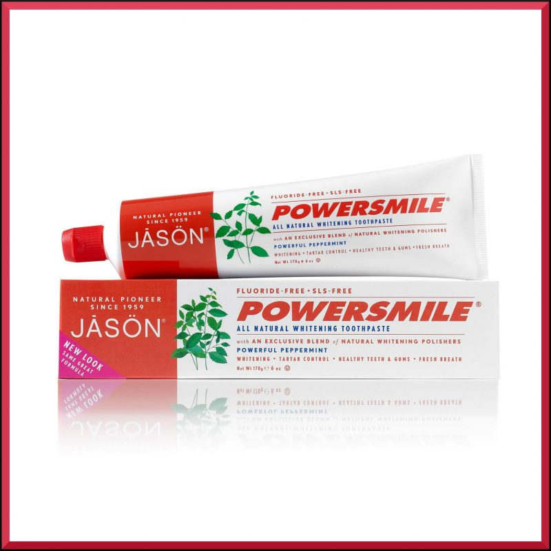"""Dentifrice """"Powersmile"""" 170gr - Jason Naturals"""