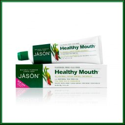 "Dentifrice sans fluor vegan & naturel ""Healthy Mouth"" 119gr"