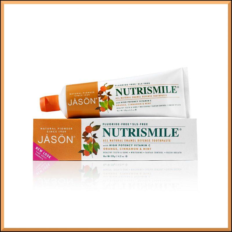 """Dentifrice """"Nutrismile"""" 119gr - Jason Naturals"""