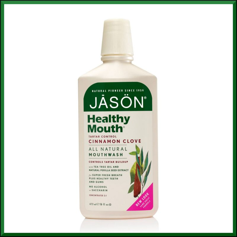 "Bain de bouche ""Healthy Mouth"" 473ml - Jason Naturals"
