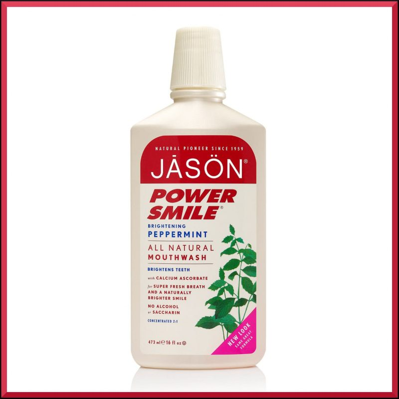 "Bain de bouche ""Powersmile"" 473ml - Jason Naturals"