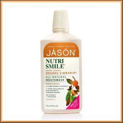 """Bain de bouche """"Nutrismile"""" 473ml - Jason Naturals"""