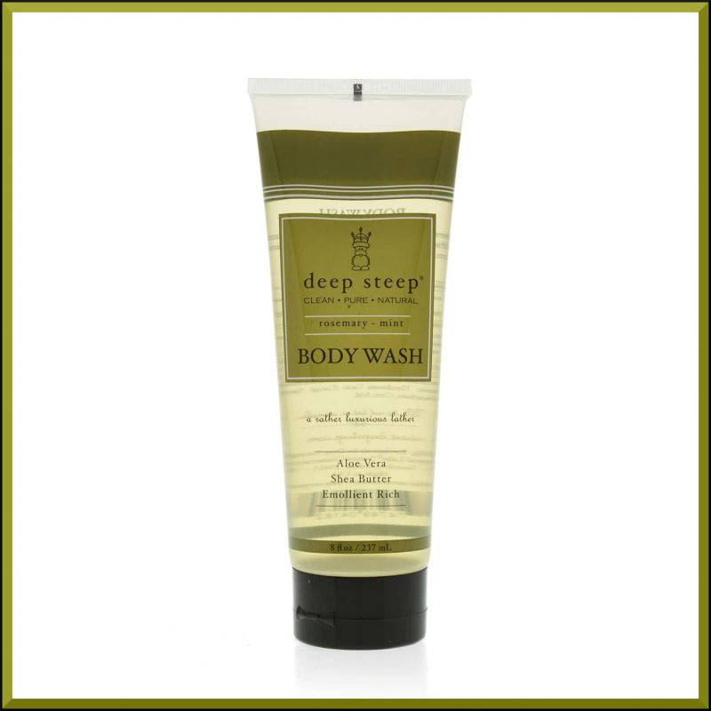 "Gel douche ""Menthe & Romarin"" 237ml - Deep Steep"