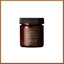 "Masque purifiant ""Argile marocaine"" 57gr - John Masters Organics"