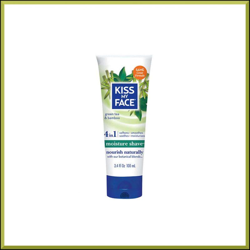 """Crème de rasage corps """"Thé vert & Bambou"""" 100ml - Kiss My Face"""