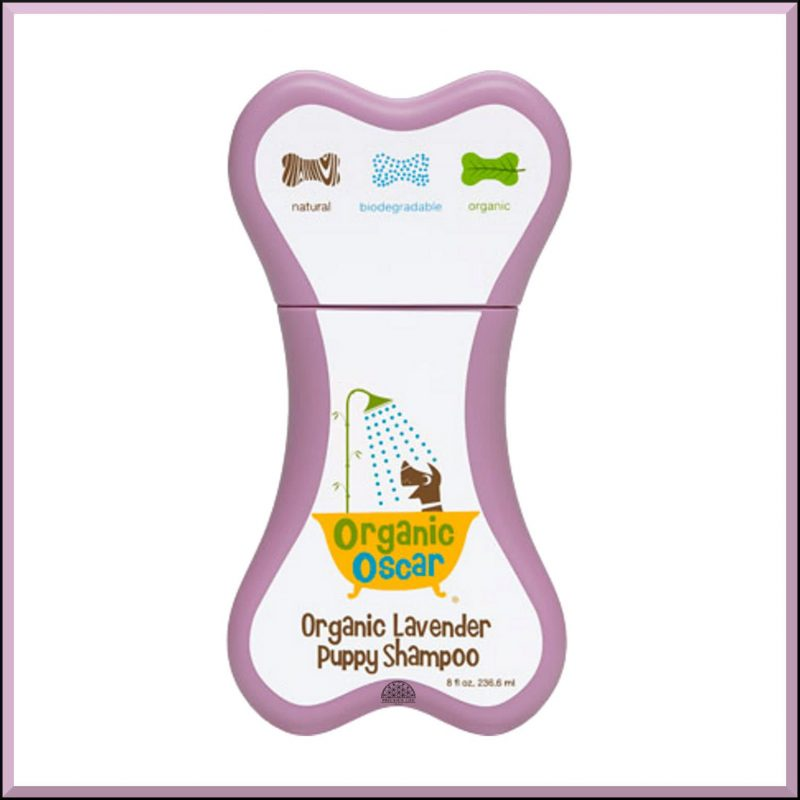 "Shampoing pour chiots ""Lavande"" 235ml - Organic Oscar"