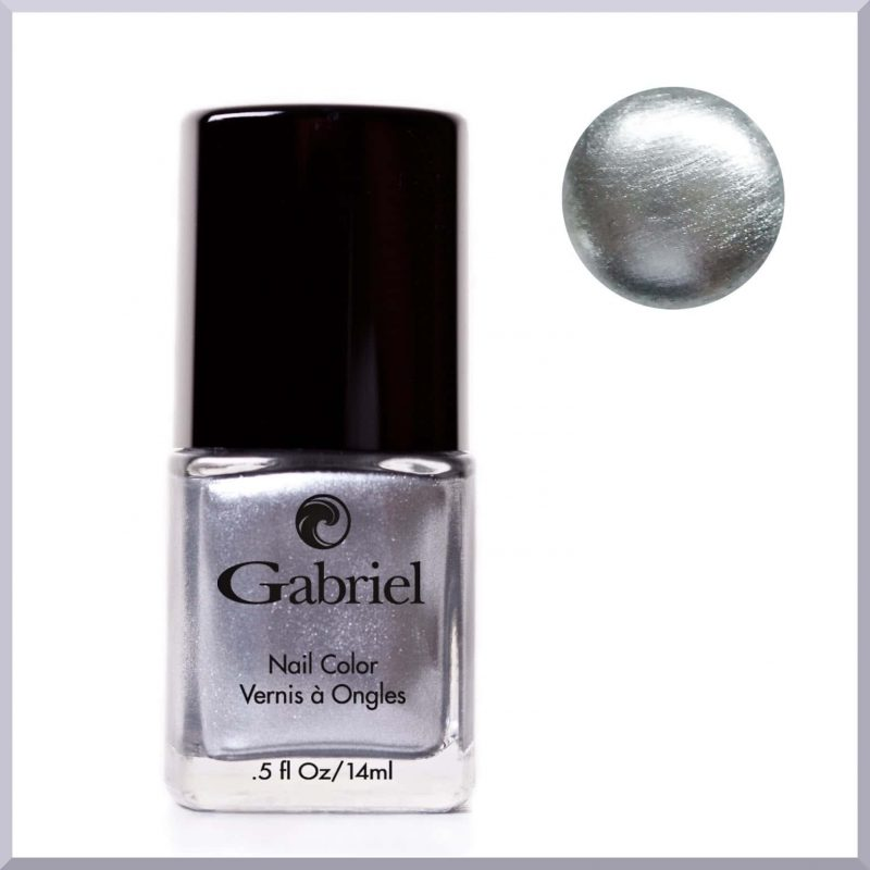 "Vernis à ongles ""Liquid Silver"" 14ml - Gabriel Color"