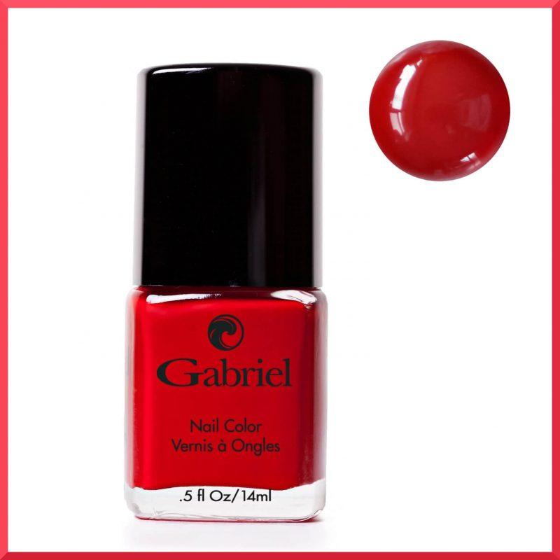 "Vernis à ongles ""Classic Red"" 14ml - Gabriel Color"